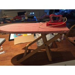 Lego Ironing Board with Iron